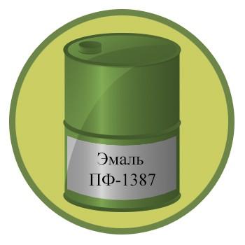 Эмаль ПФ-1387