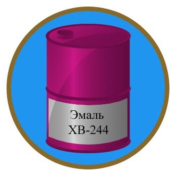Эмаль ХВ-244